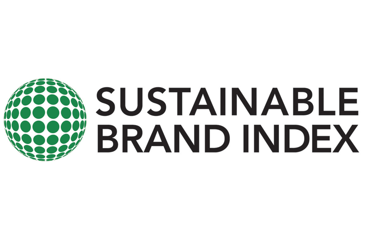 Sustainable brand index logo