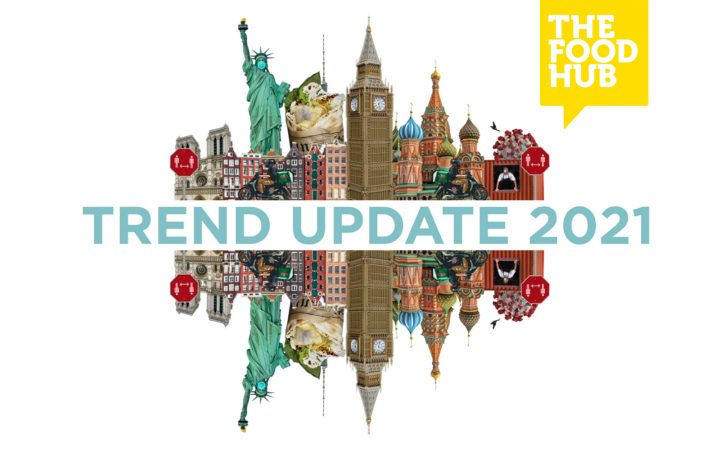 Introbild till trendfilm Trend Update 2021 från The Food Hub.
