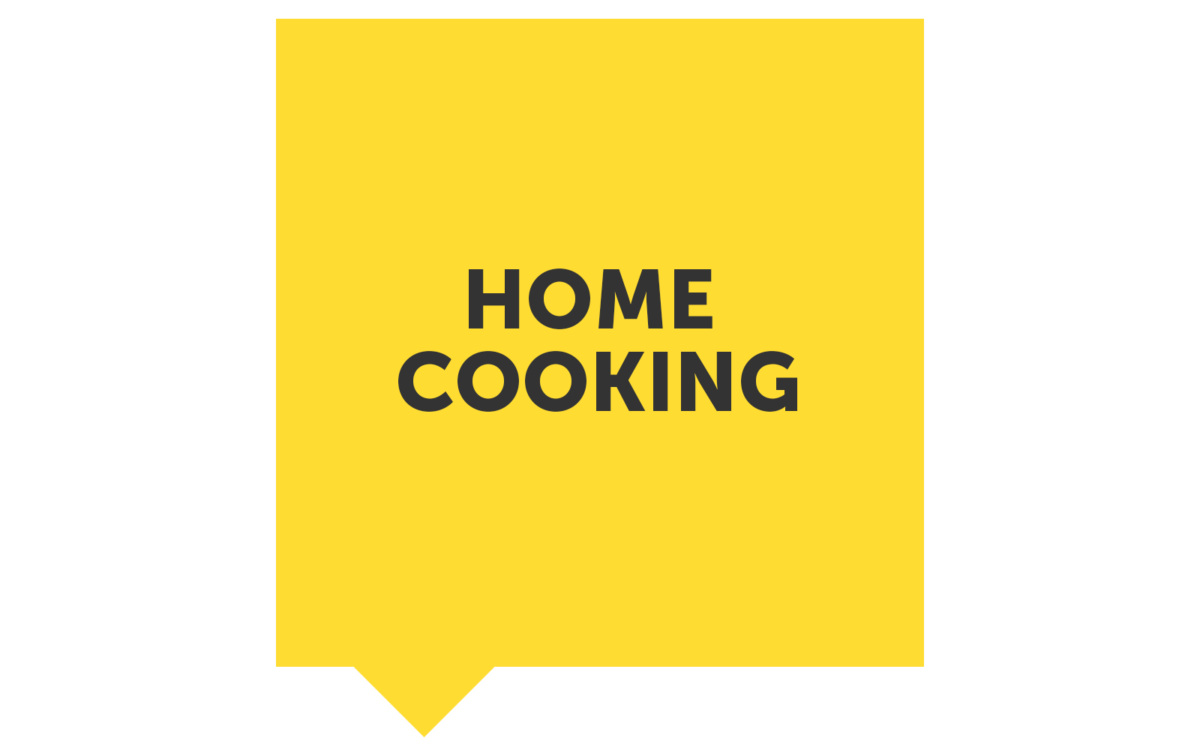 The Food Hub-trender 2021 - Home cooking.